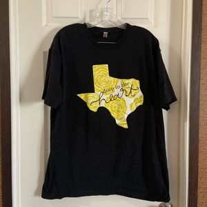 Next Level Apparel Deep In the heart of Texas tee